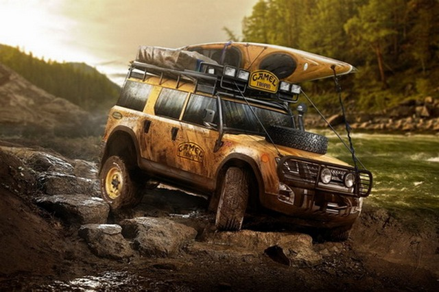 Land Rover Defender 2018 - Off Road версия