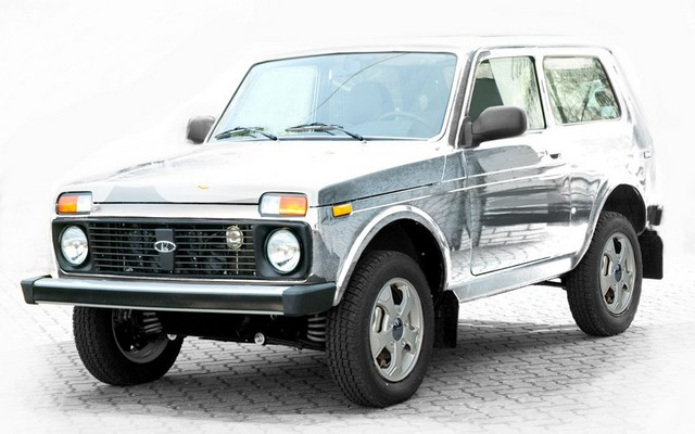 Lada 4x4 Snow Queen