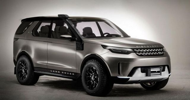 Land Rover Discovery SVX Prototype