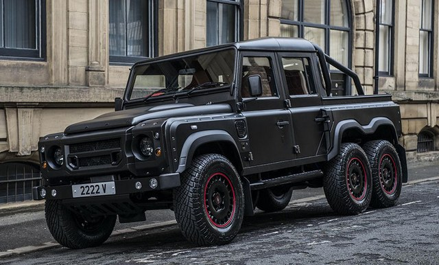 Land Rover Flying Huntsman Pickup 6x6