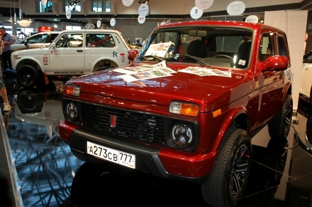 Top Marques 2016 Lada 4x4 - версия Urban